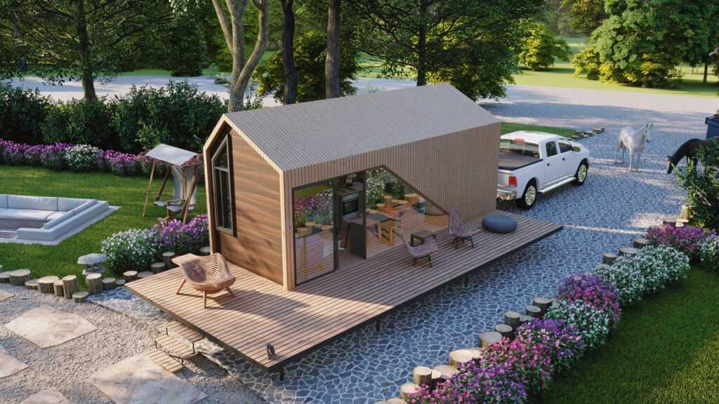 Tiny House Çekme Karavan